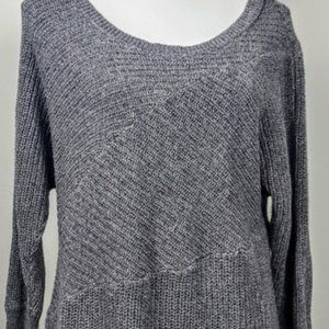 DKNY Sweater, Gray Shimmery Knit, S